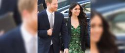 A unas horas de la boda real Meghan y Harry se mostraron muy enamorados