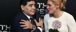 Maradona y Oliva se conocieron hace seis años.
