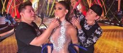 Sara lleva más de una año con Televisa