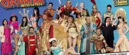¡Todo un guerrero! Así veremos en 'Cleopatra metió la pata' al galán Gabriel Soto.