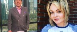El periodista se defendió y denunció ser víctima de los seguidores de la guapa venezolana.