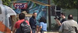 Will Smith grabó unas escenas en el parque Ingenio de Oacalco.
