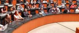 Diputada de Morena se queda dormida en pleno debate.