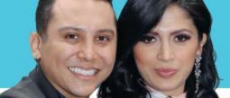 Kimberly Flores y Edwin Luna están casados por el civil.