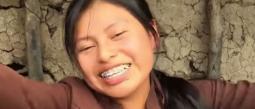 la joven vive enSaraguaro, un pueblo de la sierra ecuatoriana.
