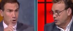 David Faitelson se hace de palabras con compañero en programa en vivo