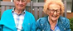 Nunca es tarde para encontrar el amor y así lo demostraron al casarse a los 100 años.
