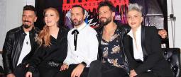 Apio, Federica, Rene, Daniela y Sergioplaticaron que se les ocurrió este show para estar más cerca de sus fans.