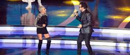 Los cantantes complacieron al público con su famoso tema 'Duele el amor'