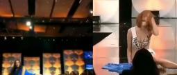 Dos concursantes de Miss Universo 2019 se caen en pleno escenario