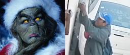 Lord Grinch: Hombre roba luces navideñas en Cuernavaca