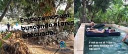 Familia Yucateca Cárdenas Cuarentena Alberca Piscina Patio Tiempo Libre Trabajo en Equipo