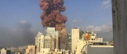 Explosión Beirut Líbano