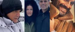 Los famosos en Madrid presumen fotos en la nieve