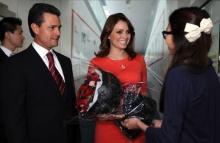 Anoche llegó el Presidente Enrique Peña Nieto a Hong Kong.
