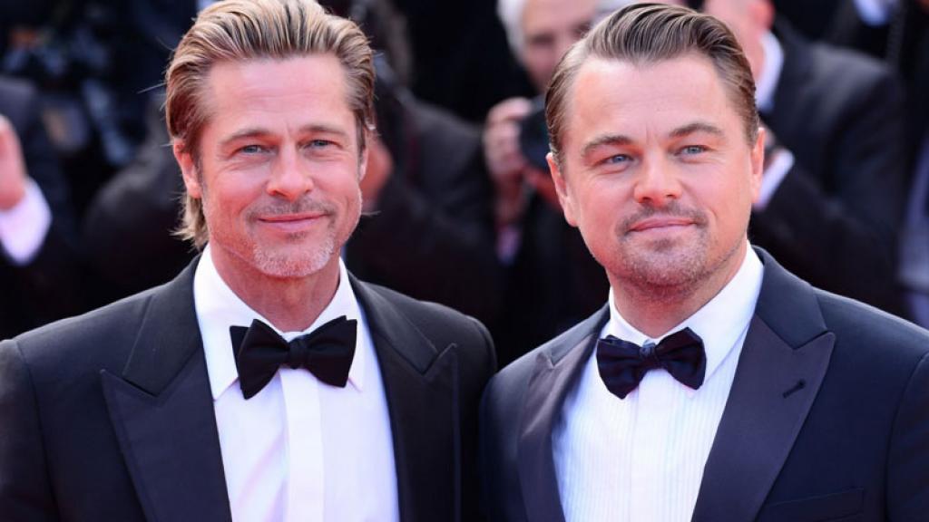 Brad Pitt y Leonardo DiCaprio causan sensación en Canes por esta razón