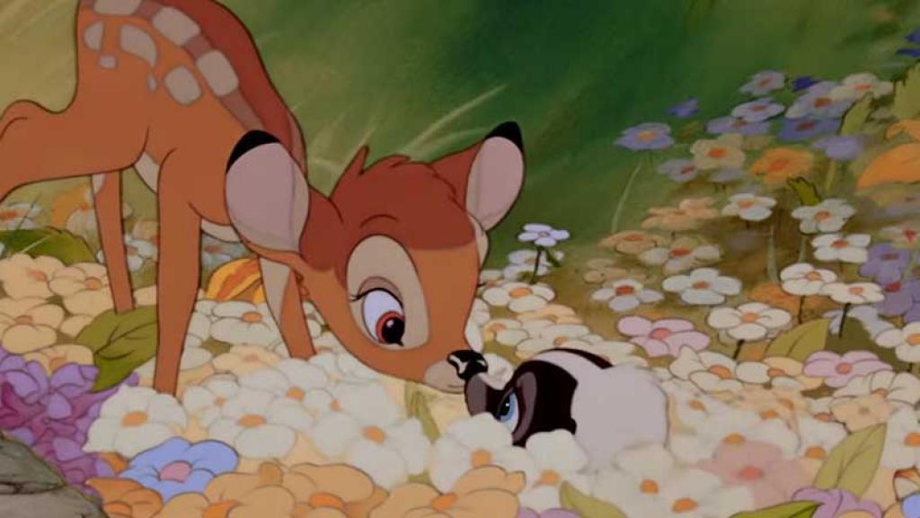 Bambi es una de las películas infantiles más conocidas en México.