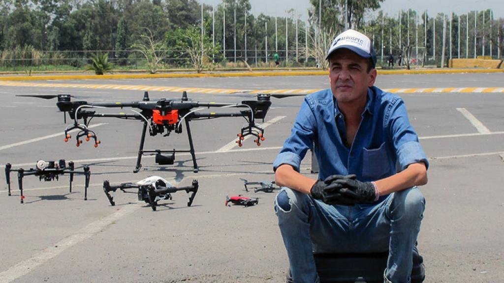 Drones Comunidad Luis Escobedo