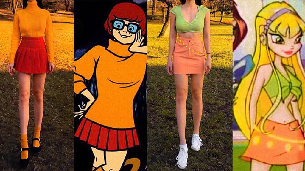 Kate personajes anime caricaturas