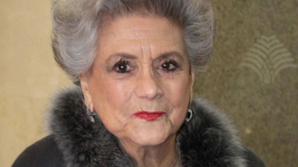 Queta Lavat primera actriz