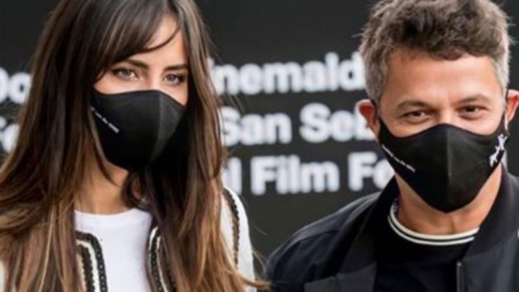 Rachel Valdés y Alejandro Sanz.
