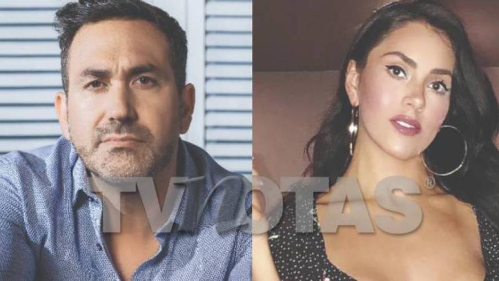 Alex Ibarra y su ex